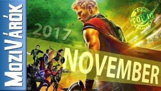 NOVEMBER (2017) - MoziVárók - THOR, Igazság Ligája, A viszkis