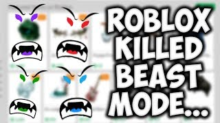 ROBLOX is Killing Beast Mode... (and other series)