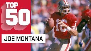 Joe Montana Top 50 Most Magical Plays!