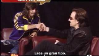 Santi Millan Interviews Bono 17.05.05
