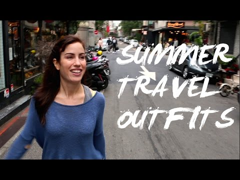 EASY SUMMER VACATION OUTFIT IDEAS + TAIWAN Travel