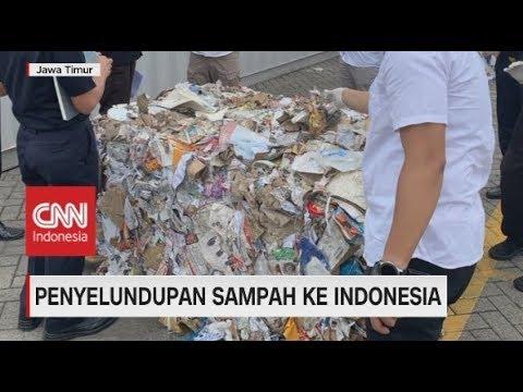 Penyelundupan Sampah Ke Indonesia
