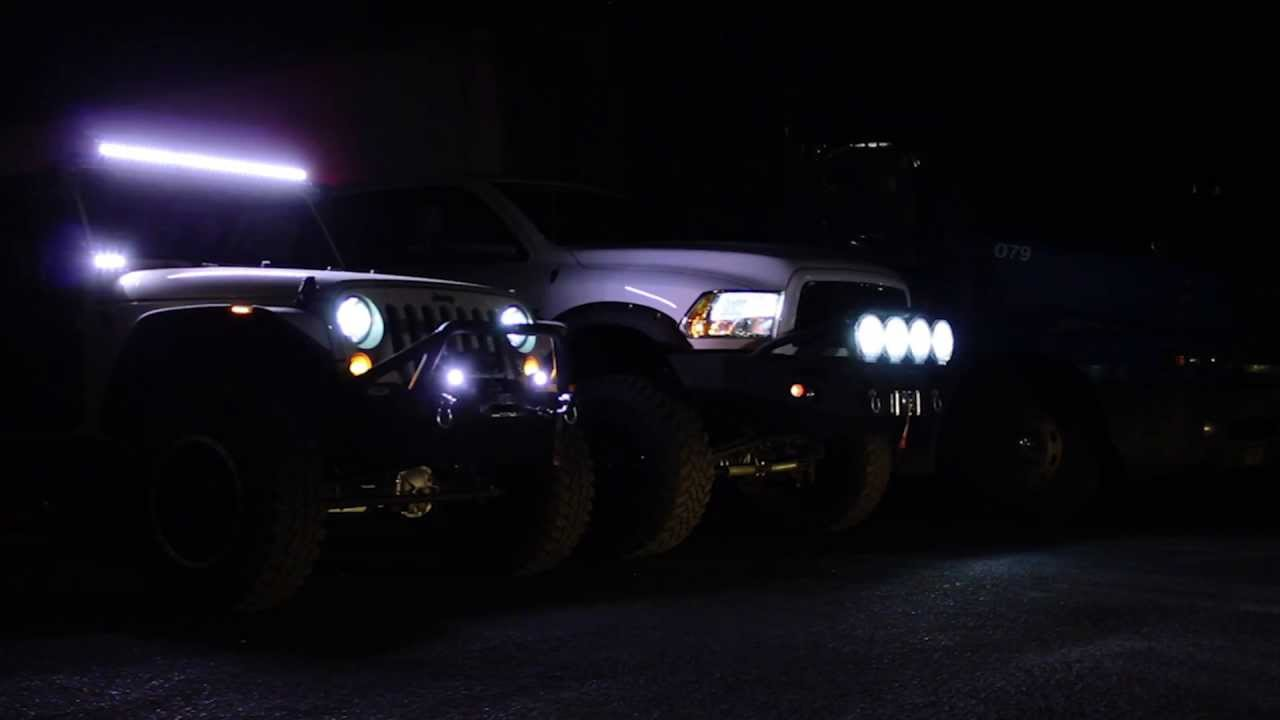 Vision X Led And Hid Off Road Lighting By Tintmasters