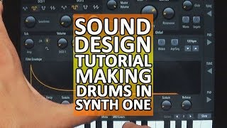How To Make Drums In Synth One PLUS Patterning Kit