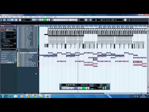 my 1st cubase hip hop beat