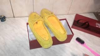 Видео обзор: Женские туфли из Китая