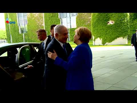 PM Netanyahu meets German Chancellor Angela Merkel