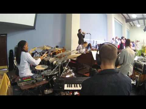 Fred Hamond - You Are The Living Word (Drums)