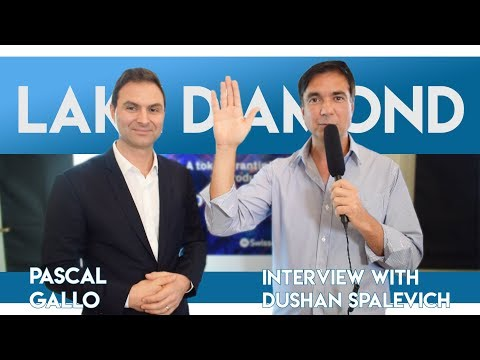 LakeDiamond ICO powered by Swissquote - CEO Pascal Gallo Int