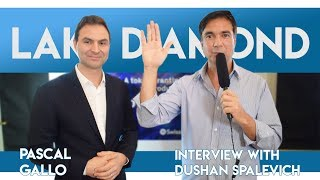 LakeDiamond ICO powered by Swissquote - CEO Pascal Gallo Interview With Dushan Spalevich for ICO TV