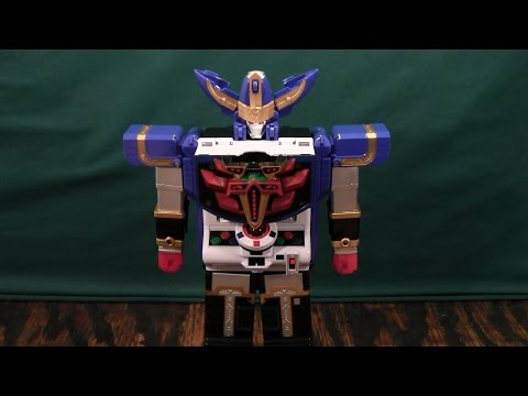 Tensou Sentai Goseiger Datas Hyper and Hyper Gosei Great Review (Power Rangers Megaforce)
