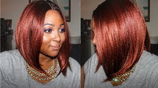 Bomb Copper Wig! Royal Sis CHIA Lace Wig| Samsbeauty