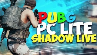 PUBG PC LITE WELCOME TO THE FUTURE | SHADOW GAMING  | LIVE INDIA ????????