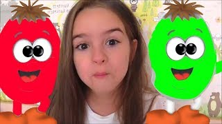 Learn Colors with Surprise Eggs  BST Kids Songs & Nursery Rhymes by Miss LANA