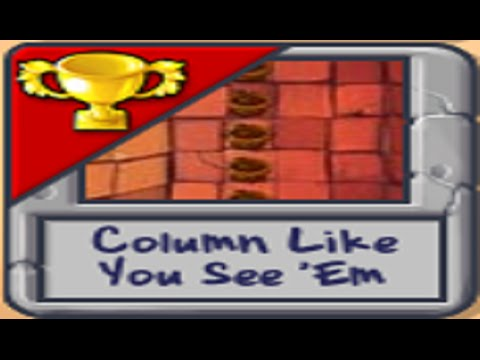 Plants Vs Zombies Mini-Games - Part 12 - Column Like You See 'Em