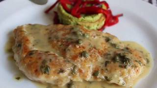 Chicken Piccata Recipe - How To Make Chicken Piccata - Chicken With Lemon Caper Sauce