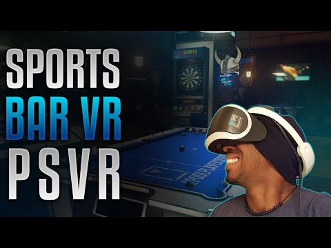 Sports Bar VR Hangout  Live #53 | [HD] [PS Pro] [PSVR]