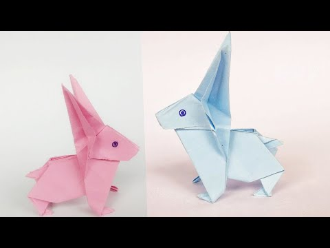 DIY How To Make Paper Rabbit |Origami | Easy paper craft by All Paper Crafts