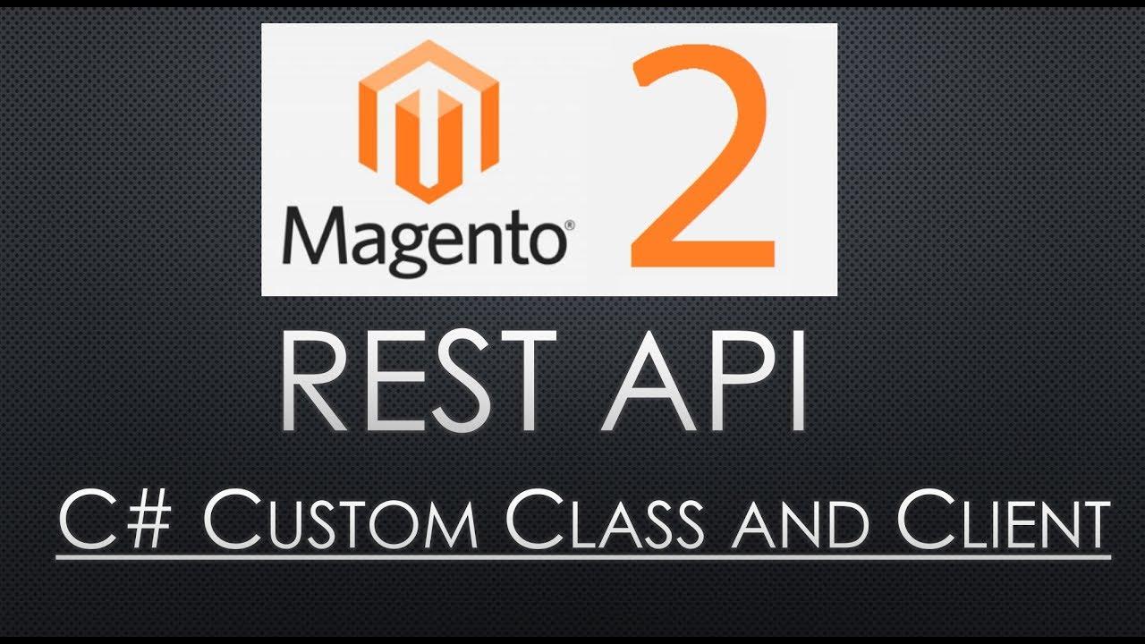 Magento 2 REST API