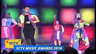 Video Jaz ft Fatin Shidqia - Teman Bahagia & Shot Me Now | SCTV Music Awards 2018 download MP3, 3GP, MP4, WEBM, AVI, FLV Juli 2018