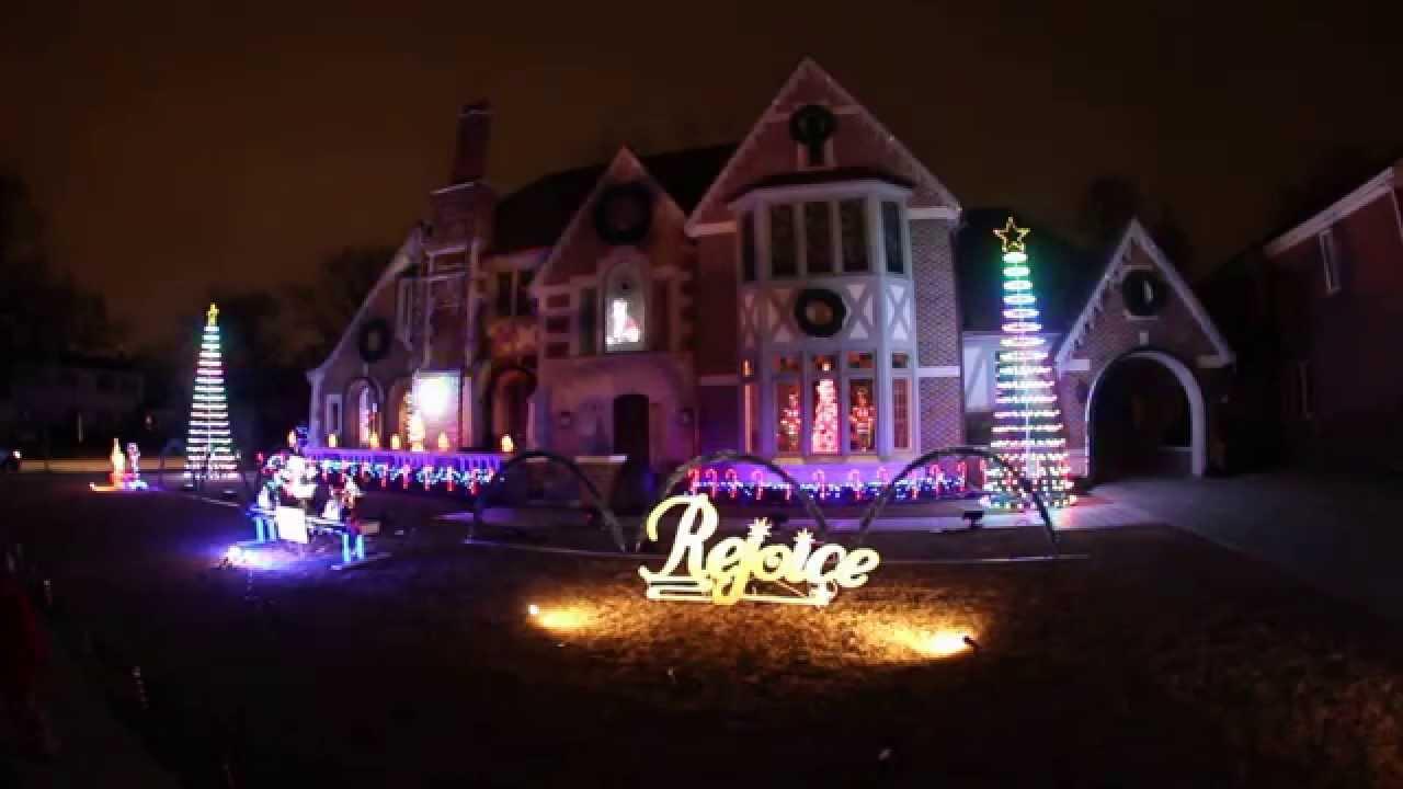 Best Christmas Lights Chicago , Park Ridge   YouTube