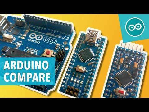 COMPARING ARDUINO (UNO, NANO & PRO MINI) - Arduino-tutorials.net