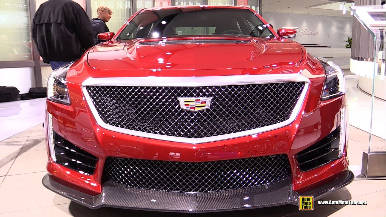 2016 Cadillac Cts V Exterior And Interior Walkaround Detroit Auto Show You
