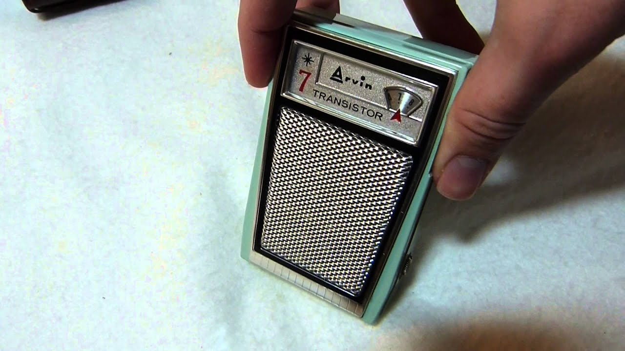 1961 Arvin 61r35 Transistor Radio  Made In The Good Old