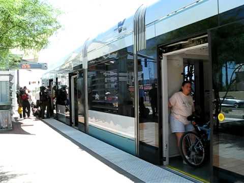 Phoenix Valley Metro Airport station stop