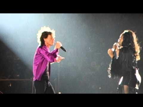 Rolling Stones Santiago de Chile 2016 Gimme Shelter Sasha Allen