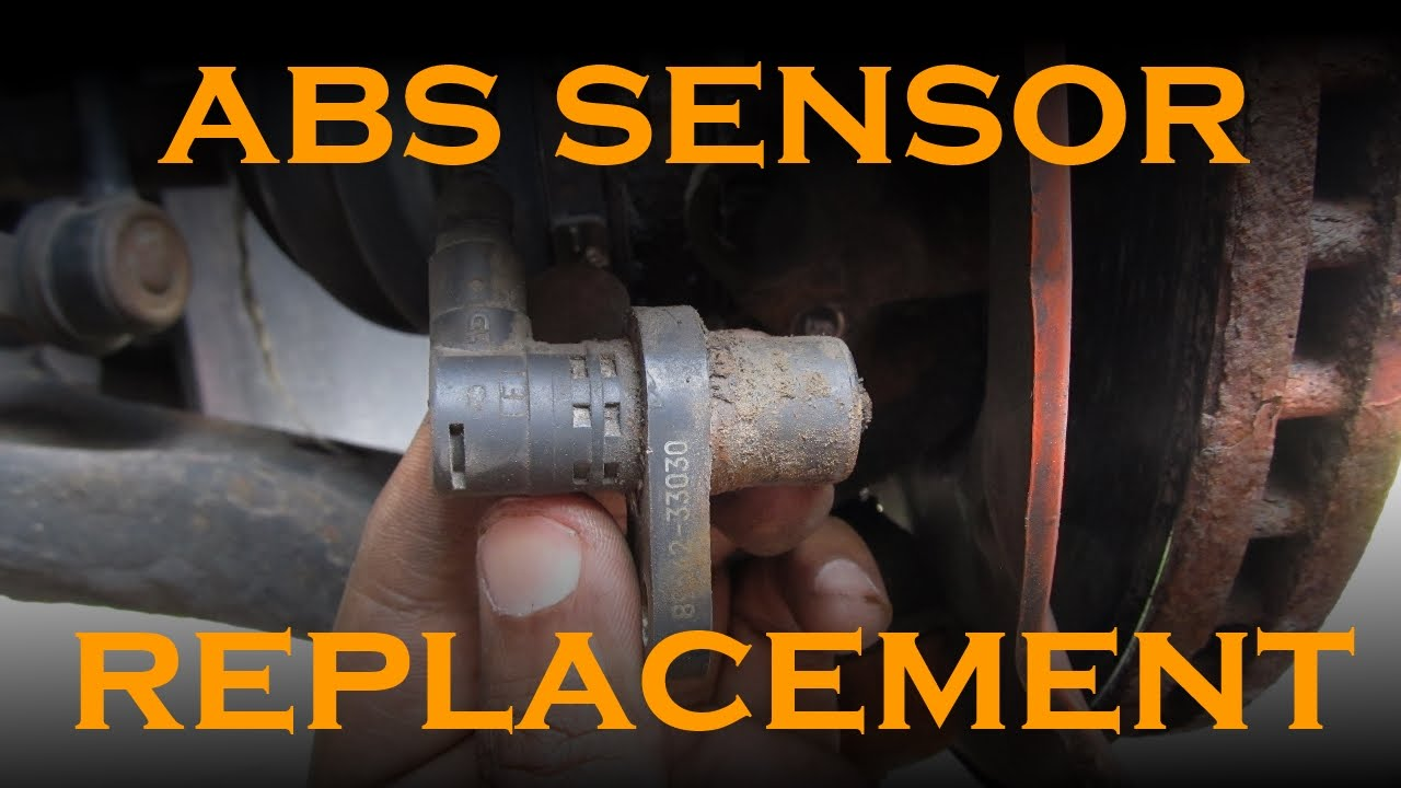ABS Speed Sensor Replacement  YouTube