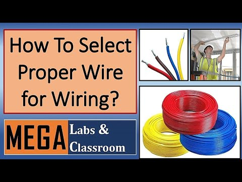 how to select proper wire wire size wire current capacity rh youtube com