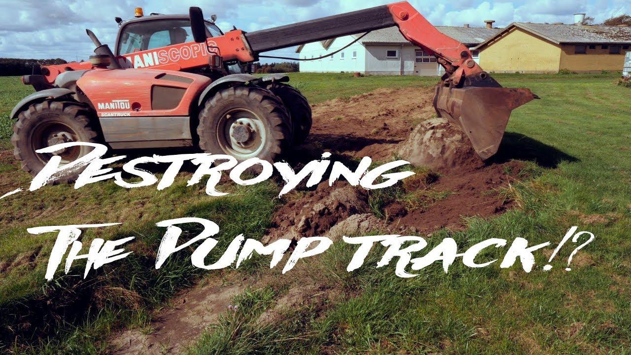 Quick Backyard Update | Destroying The Pump Track??