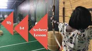 My First Archery Lesson