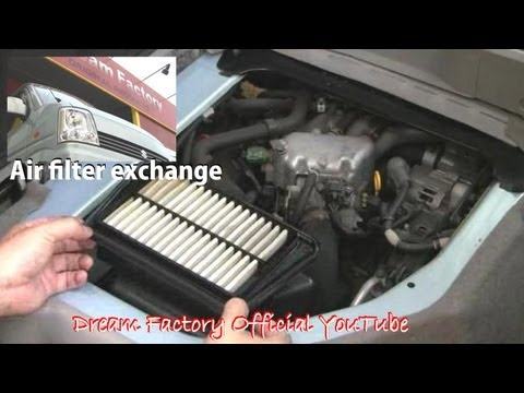 Air filter exchange☠Suzuki EVERY@Dream Factory Official YouTube