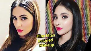 Heena khan inspired Makeup    shystyles
