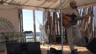 川内原発隣接の久美崎海岸で行われたウェル亀ロックフェスティバルでの...
