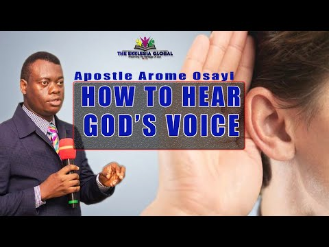 How To Activate Your Spiritual Ears || Apostle Arome Osayi