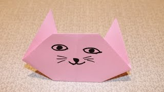 Как сделать кошку из бумаги, Оригами, Origami Fox(Как сделать кошку из бумаги, Оригами, Origami Fox #Оригами Подписывайтесь на канал YouTube. Subscribe YouTube https://goo.gl/wpnMtX..., 2014-09-26T18:18:31.000Z)