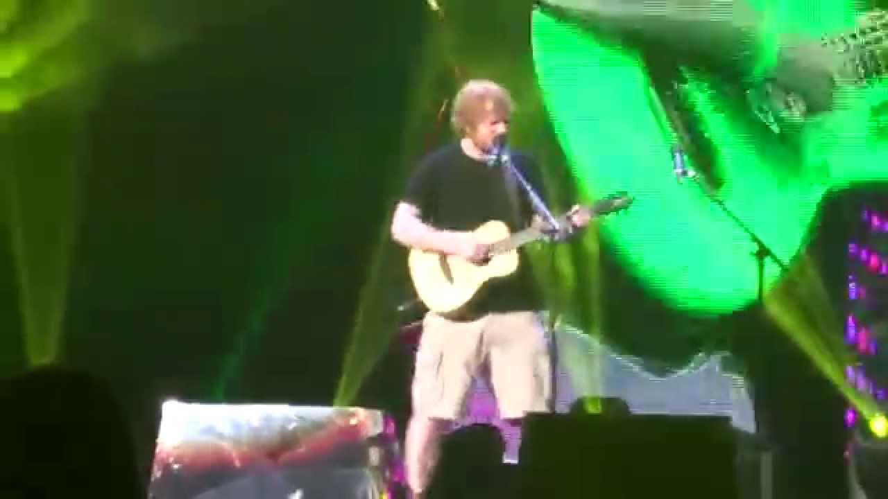 Ed Sheeran X Tour Youtube
