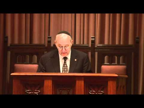 ACSZ - Dr. Fred Rosner - Jewish Medical Ethics