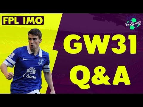 BAINES OR COLEMAN? | Gameweek 31 Q&A | Fantasy Premier League 2017/18