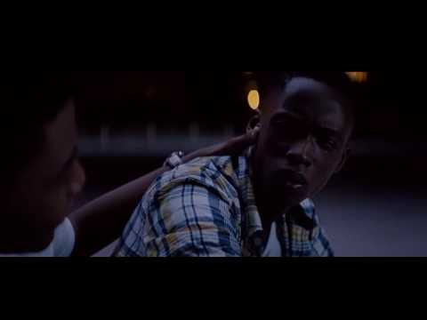 Moonlight: Kevin and Chiron kiss (2017 movie)