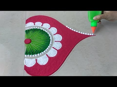 Latest Diwali special rangoli design 2018 thumbnail