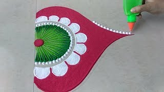 Latest Diwali special rangoli design 2018