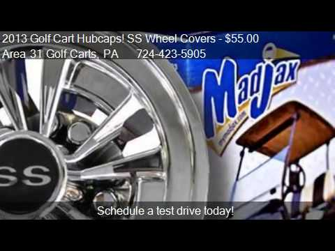 2013 Golf Cart Hubcaps! SS Wheel Covers for sale in Acme 4c1caa63d85