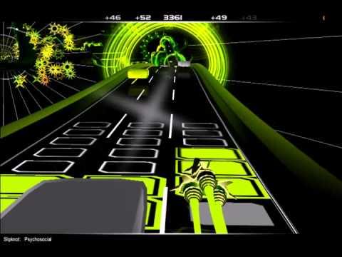 Audiosurf - Gameplay, Slipknot Psychosocial