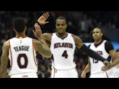 Top 5 Plays (1st half) | Atlanta Hawks | 2014-15| SportsInTheATL™