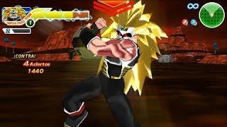 DRAGON BALL TTT heroes mod god mission 3: bardock vs mira