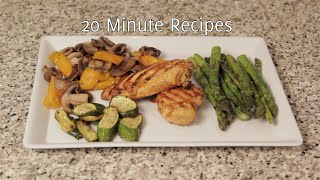 20 Minute Recipes - Chicken And Vegetables